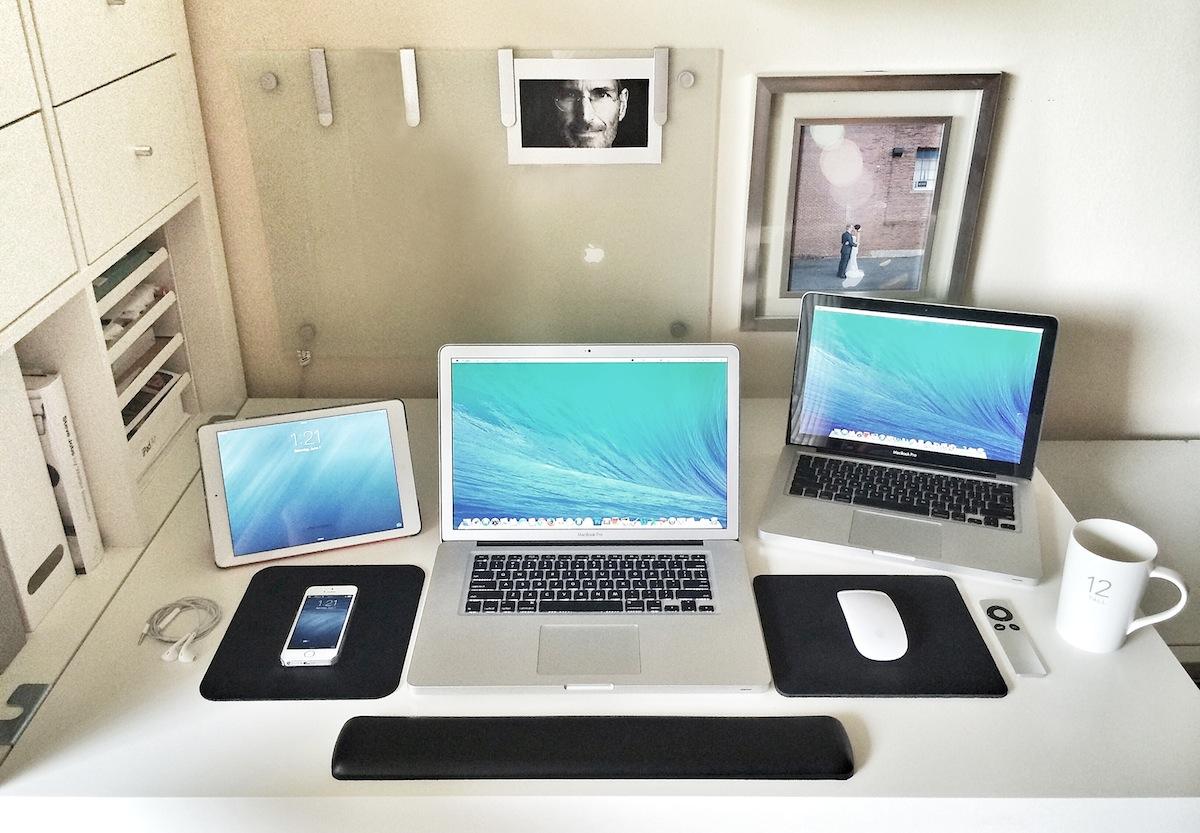 Jesse Seidel's Desk