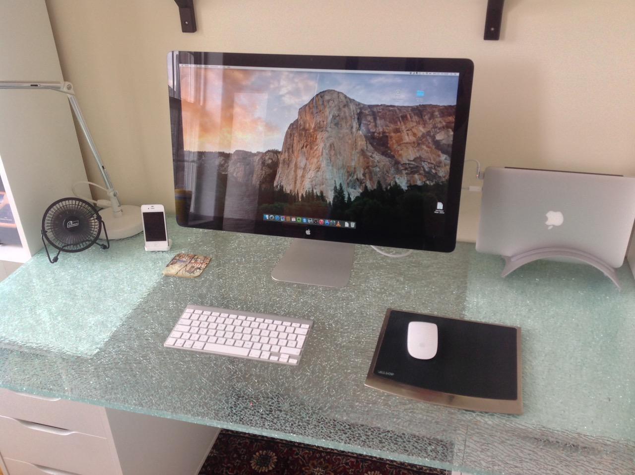 Marc Laverdiere's Desk
